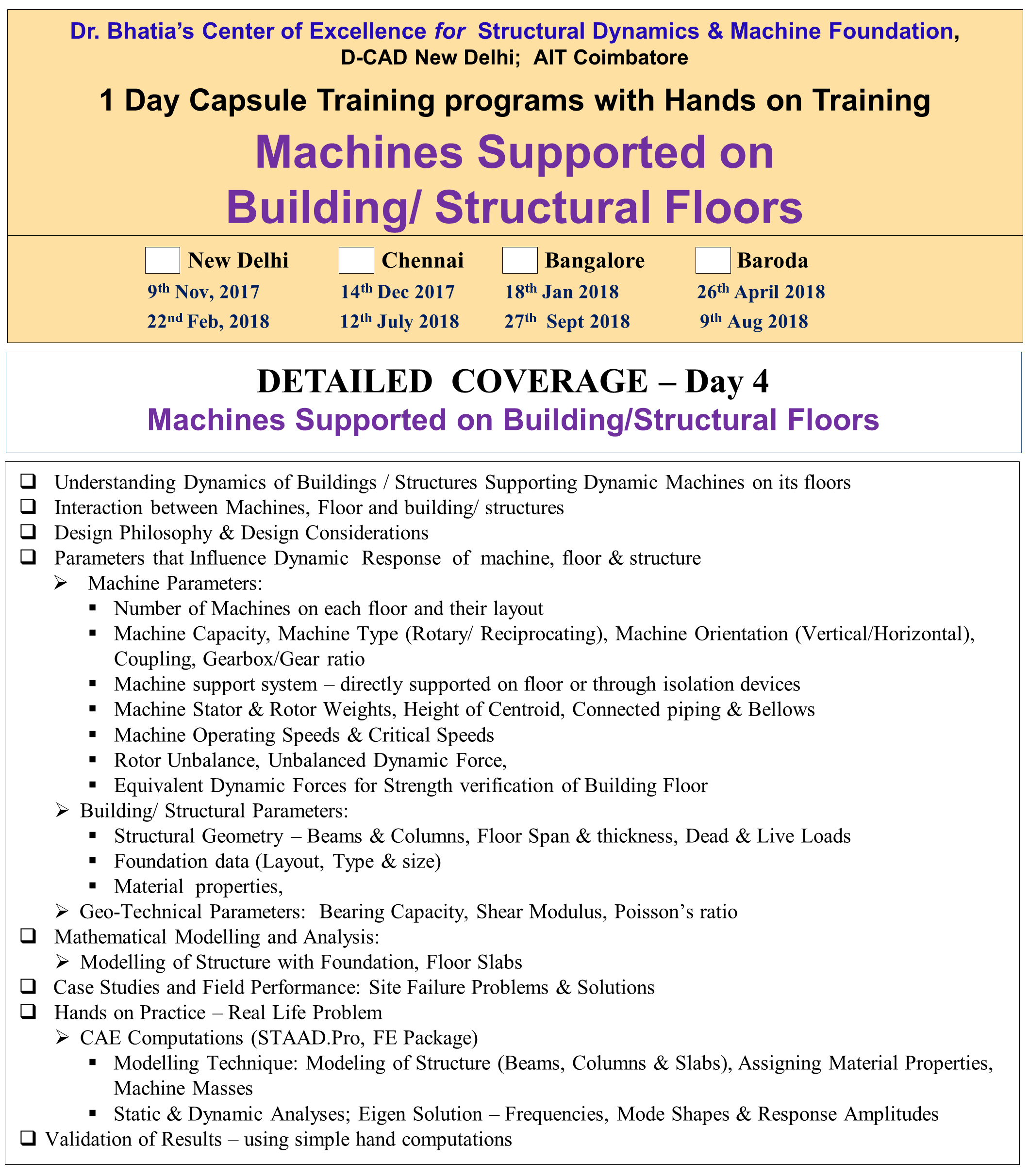 Capsule Training Day 4